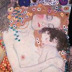 Las tres edades de la Mujer, Gustav Klimt Enmarcado de laminas
