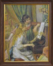 CUADRO MUCHACHAS AL PIANO RENOIR Enmarcado de cuadros