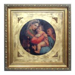 Enmarcado de lamina de Rafael Enmarcado de cuadros