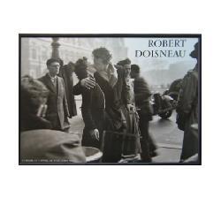 Enmarcado de lamina de Robert Doisneau - El Beso Marcos y Cuadros