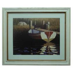 Cuadro - The river boat (discontinuado) Enmarcado de laminas