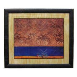 Enmarcado con marco texturado Enmarcado de cuadros