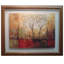 Enmarcado de lámina arbol abstracto Enmarcado de cuadros