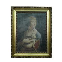 Enmarcado de laminas Lady with an Ermine Enmarcado de cuadros