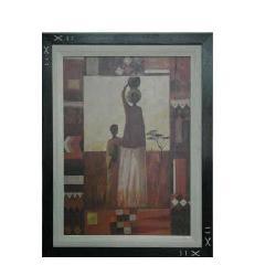Enmarcado de lamina etnica Enmarcado de cuadros