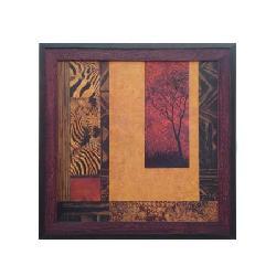 Enmarcado de lamina africana Enmarcado de laminas