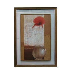 Enmarcado de jarron con flor Enmarcado de cuadros