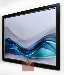 Enmarcado de lamina oleo abstracto Enmarcado de cuadros