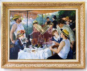 Cuadro El almuerzo de los Remeros  Enmarcado de cuadros