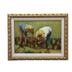 Enmarcado de Oleo campesinos Enmarcado de cuadros
