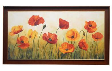 Cuadro - Campo de tulipanes Enmarcado de cuadros