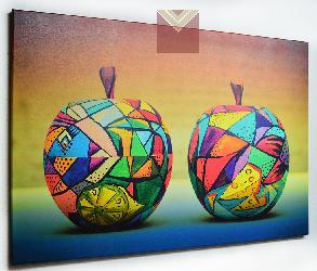Cuadro Canvas Bastidor Manzanas decorativas Marcos y Cuadros