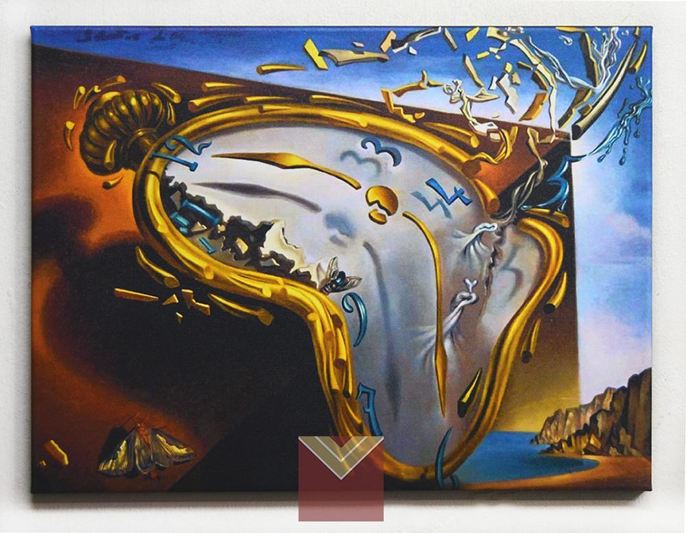 Canvas en bastidor, Dali