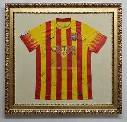 Enmarcado camiseta Barcelona Marcos y Cuadros