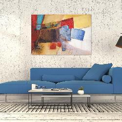 cuadro canvas abstracto Marcos y Cuadros