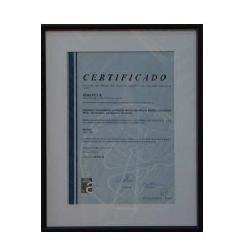 Enmarcado de certificado Enmarcado de laminas