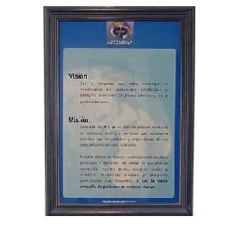 Enmarcado de Certificado Colgate-Palmolive Marcos y Cuadros