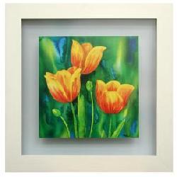 Cuadros:  Composizzione di tulipani Enmarcado de cuadros