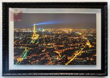 Cuadro Paris de noche Enmarcado de laminas