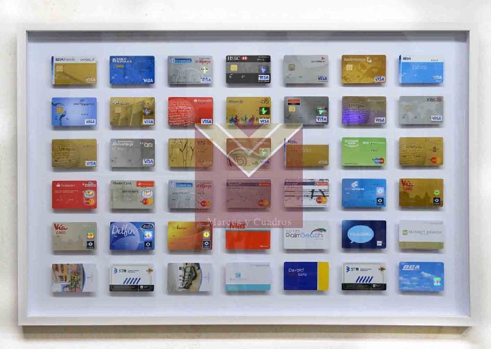 Enmarcado tarjetas