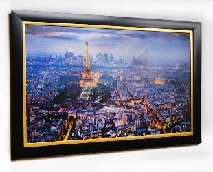 Cuadro Torre Eiffel Enmarcado de laminas