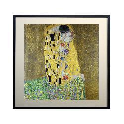 Cuadro El Beso, Klimt Enmarcado de laminas