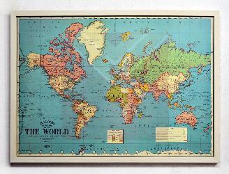 Enmarcado de mapa Enmarcado de laminas