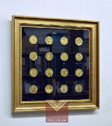 monedas Enmarcado de cuadros