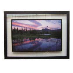Enmarcado de lamina de foto de paisaje Marcos y Cuadros