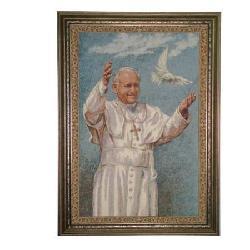 Enmarcado Tapiz Juan Pablo II Enmarcado de cuadros