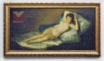 Enmarcado puzzle La Maja desnuda Enmarcado de cuadros