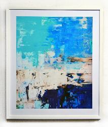 Cuadro abstracto Enmarcado de laminas