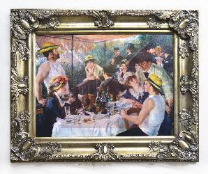 Cuadro El almuerzo de los Remeros Renoir Enmarcado de cuadros
