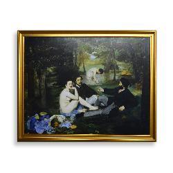 cuadro  El Almuerzo sobre la hierba,  Manet Edouard Enmarcado de cuadros