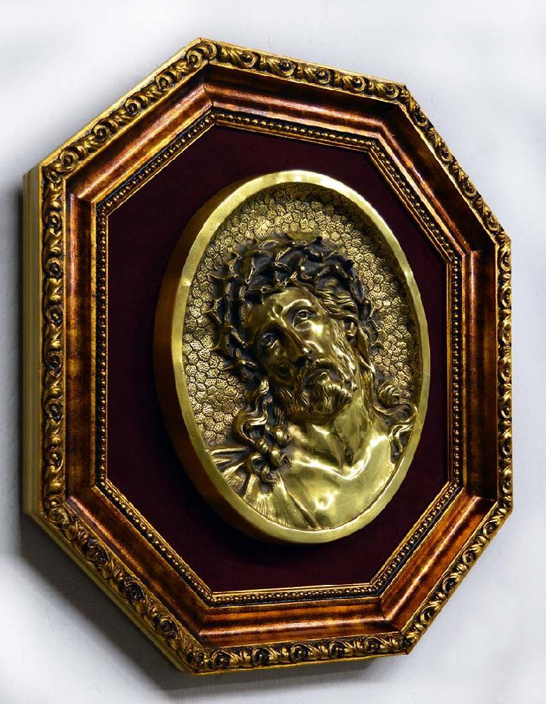 Enmarcado especial varilla Dorado octogonal
