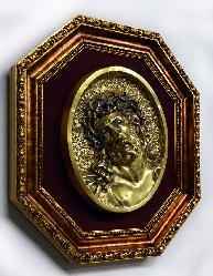 Enmarcado especial varilla Dorado octogonal Enmarcado de cuadros