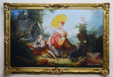 Marco Luis XV Enmarcado de cuadros