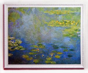Cuadro Nenufares Monet Enmarcado de cuadros