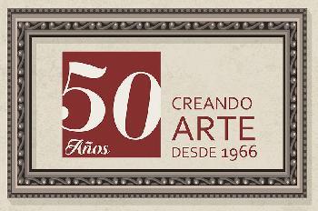 MyC 50 años creando arte  Enmarcado de laminas
