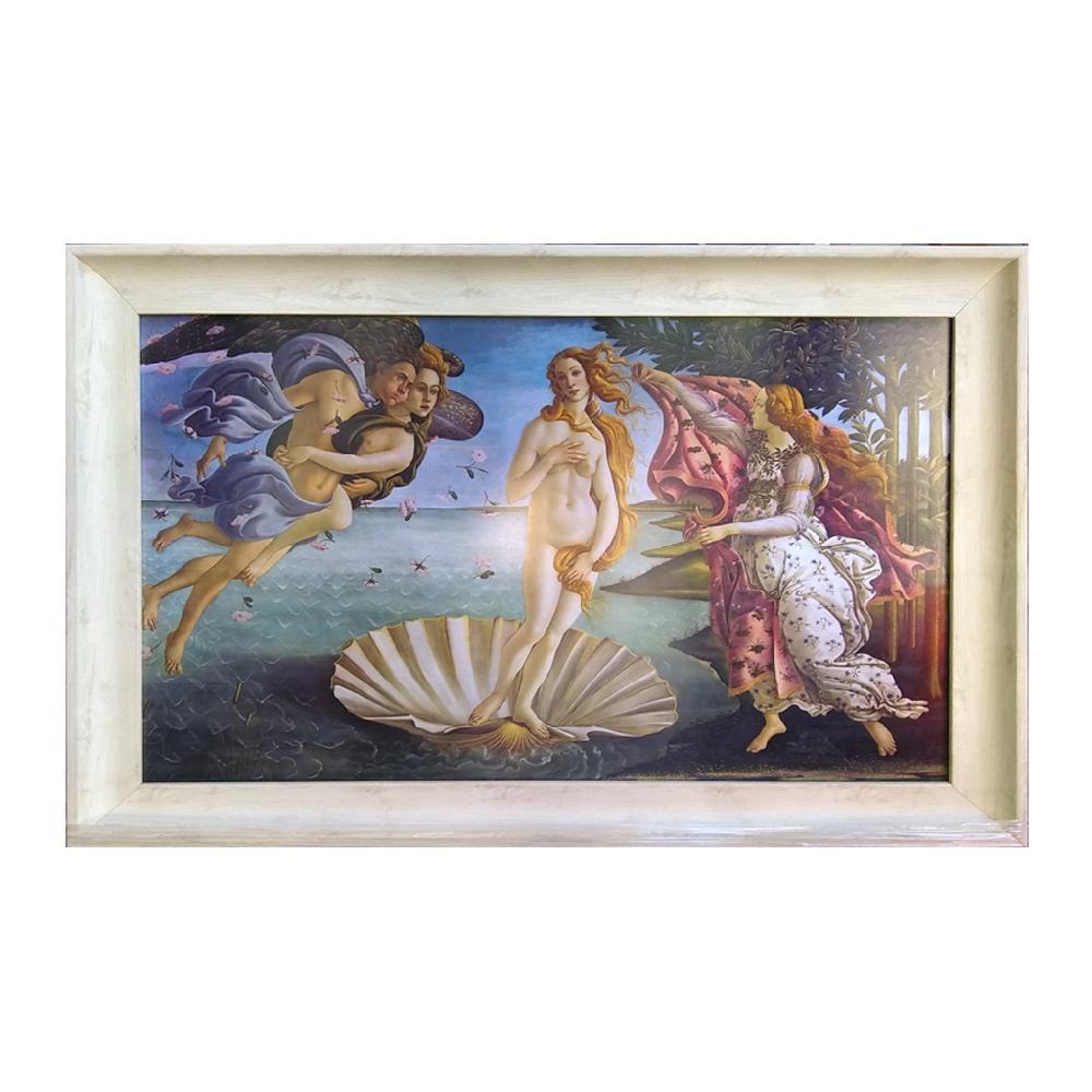 cuadro nacimiento de venus, Botticelli