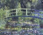 Nenufares y puente Enmarcado de cuadros