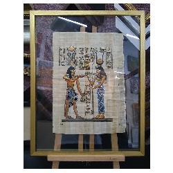 enmarcado papiro doble vidrio Marcos y Cuadros