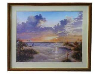 Cuadro - Paradise Sunset (discontinuado) Enmarcado de laminas