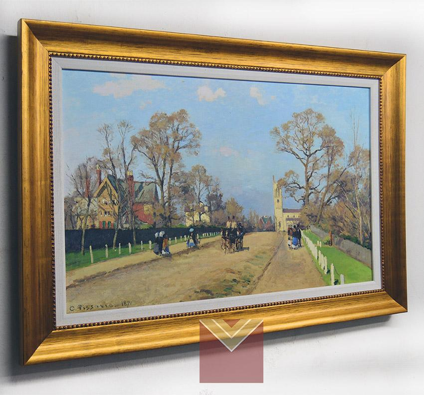 Cuadro Pissarro, La avenida, Sydenham
