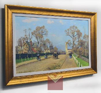 Cuadro Pisarro 100 x 70cm Enmarcado de cuadros
