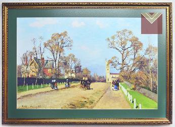 Cuadro Pissarro, La avenida, Sydenham Enmarcado de cuadros