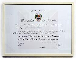 Enmarcado diploma Enmarcado de cuadros