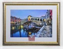 Cuadro canal de Venecia Enmarcado de cuadros