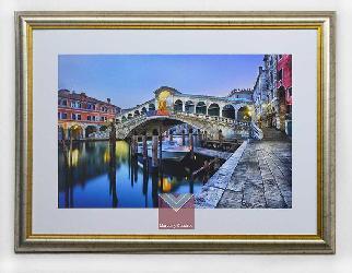 Cuadro canal de Venecia Enmarcado de laminas